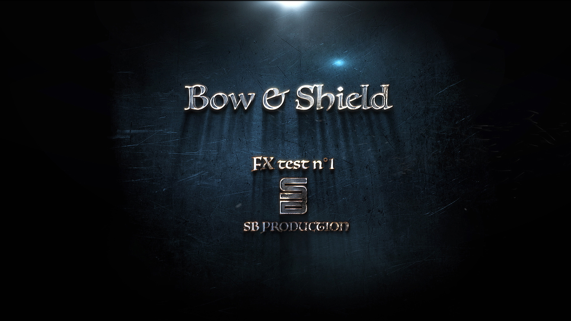 Bow and Shield